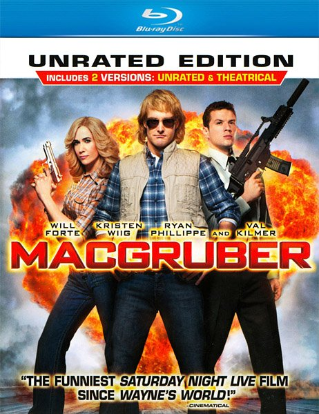 СуперМакГрубер / MacGruber [Unrated] (2010) HDRip/BDRip 720p
