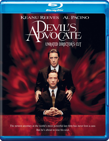 Адвокат дьявола / The Devil's Advocate (1997) [Unrated Director's Cut] BDRip 720p, 1080p, BD-Remux