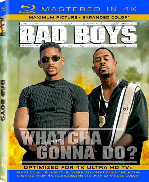 Плохие парни / Bad Boys (1995) [Remastered] BDRip 720p, 1080p, BD-Remux