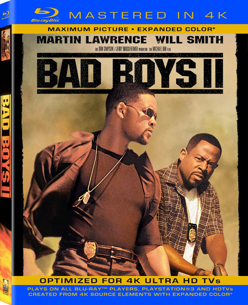 Плохие парни 2 / Bad Boys II (2003) [Remastered] BDRip 720p, 1080p, BD-Remux