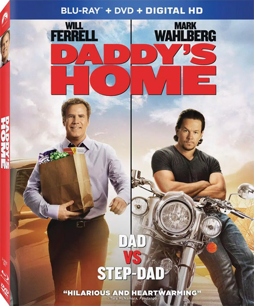 Здравствуй, папа, Новый год / Daddy's Home (2015) BDRip 720p, 1080p, BD-Remux