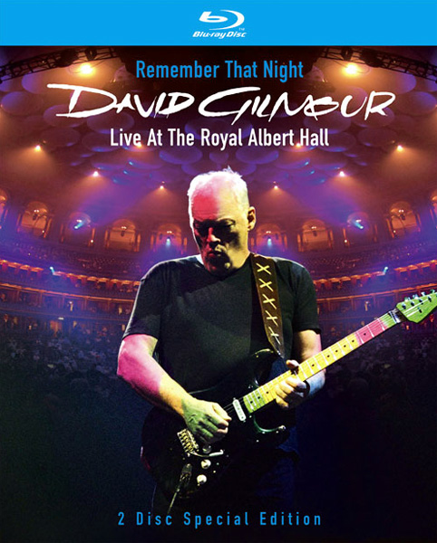 Концерт Дэвида Гилмора / David Gilmour: Remember That Night - Live At The Royal Albert Hall {2-Disc Edition} (2007) Blu-Ray {2 Discs}