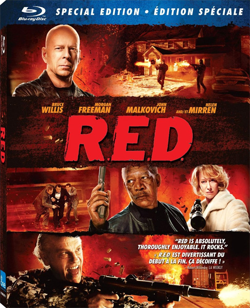 РЭД / RED (2010) [US Transfer] BDRip 720p, 1080p, BD-Remux