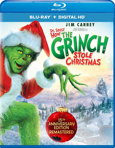 Гринч – похититель Рождества / How the Grinch Stole Christmas (2000) [Remastered] BDRip 720p, 1080p, Blu-Ray CEE [15th Anniversary Remastered Edition]