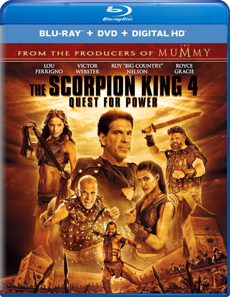 Царь скорпионов 4: Утерянный трон / The Scorpion King: The Lost Throne (Quest for Power) (2015) BDRip 720p, 1080p, Blu-Ray CEE