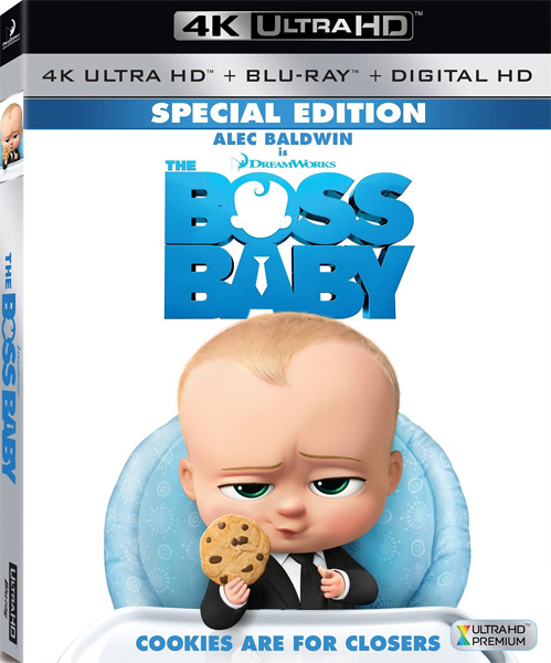 Босс-молокосос / The Boss Baby (2017) 4K HDR BD-Remux