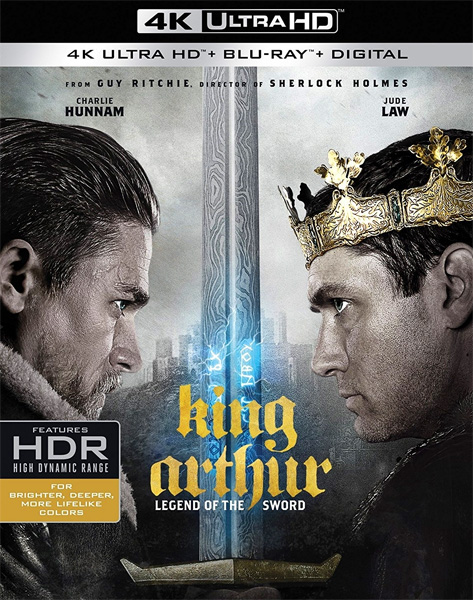 Меч короля Артура / King Arthur: Legend of the Sword (2017) 4K UHD BD-Remux, Blu-Ray 4K EUR
