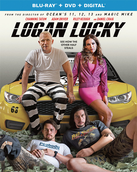 Удача Логана / Logan Lucky (2017) BDRip 720p, 1080p, BD-Remux, Blu-Ray RUS