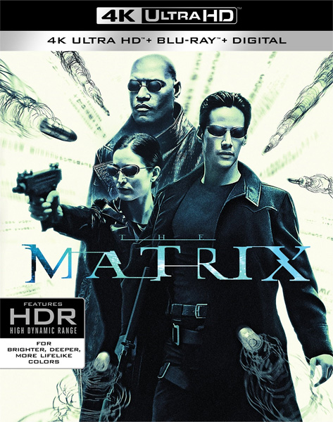 Матрица / The Matrix (1999) Blu-Ray 4K EUR
