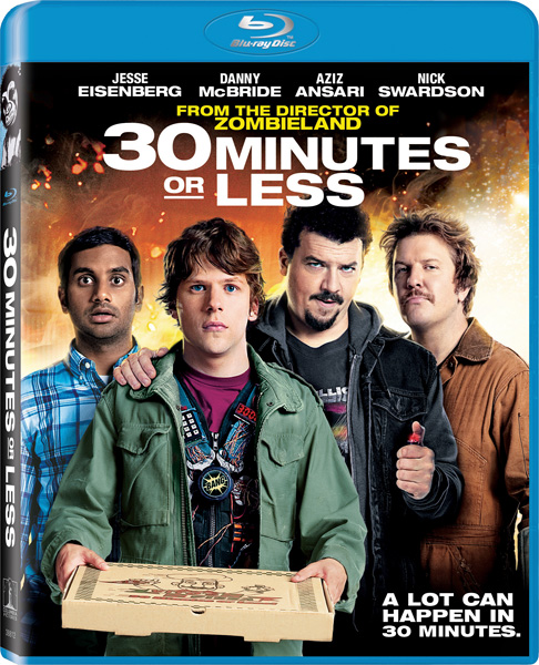Успеть за 30 минут / 30 Minutes or Less (2011) BDRip 720p, 1080p, BD-Remux, Blu-Ray CEE