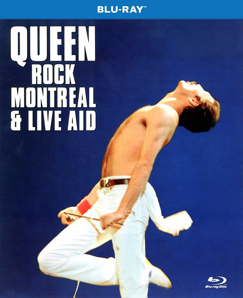 Queen Rock Montreal & Live Aid (1981) BDRip 1080p, Blu-Ray Disc