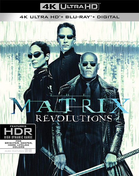 Матрица: Революция / The Matrix Revolutions (2003) Blu-Ray 4K EUR
