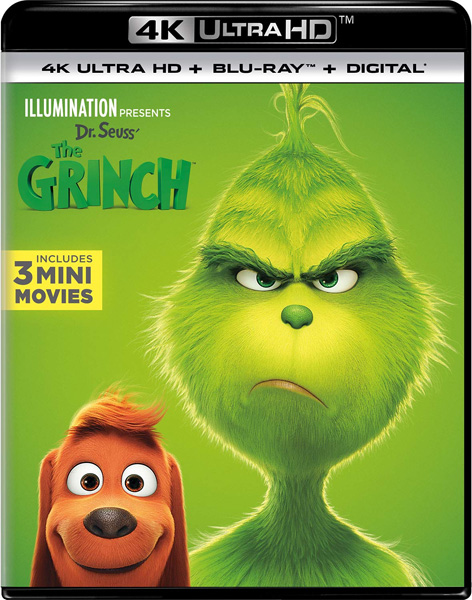 Гринч / The Grinch (2018) 4K HDR BD-Remux