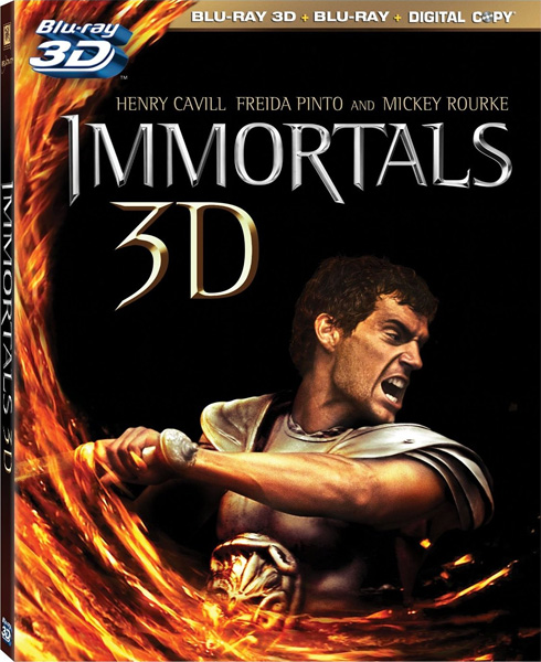 Война Богов: Бессмертные / Immortals (2011) [US Transfer] BD-Remux [2D/3D]