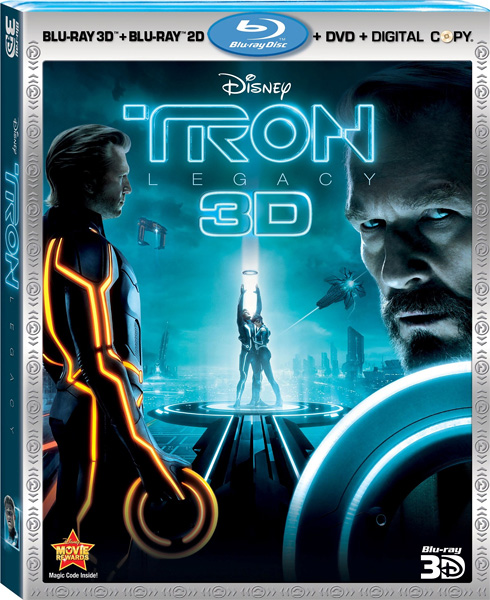 Трон: Наследие / TRON: Legacy (2010) Blu-Ray 3D EUR