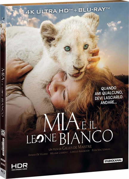 Миа и белый лев / Mia and the White Lion / Mia et le lion blanc (2018) 4K HDR BD-Remux
