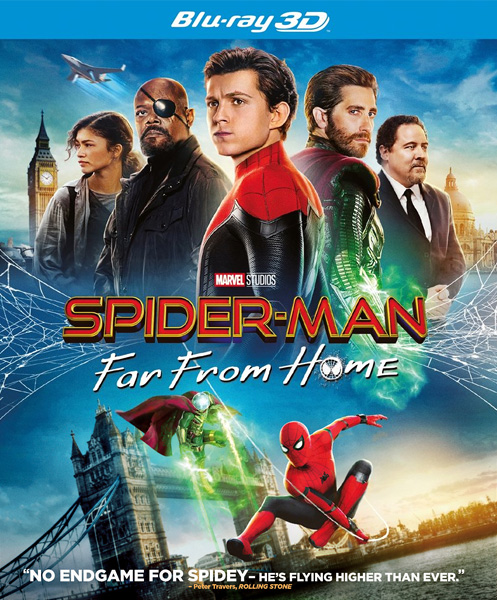 Человек-паук: Вдали от дома / Spider-Man: Far from Home (2019) BDRip 720p, 1080p, 3D (HOU), BD-Remux, BD-Remux [2D/3D]