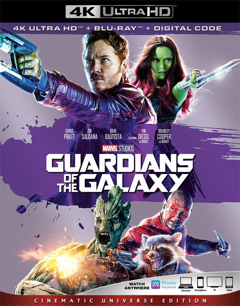 Стражи Галактики / Guardians of the Galaxy (2014) 4K HDR BD-Remux