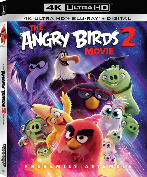Angry Birds 2 в кино / The Angry Birds Movie 2 (2019) 4K HDR BD-Remux