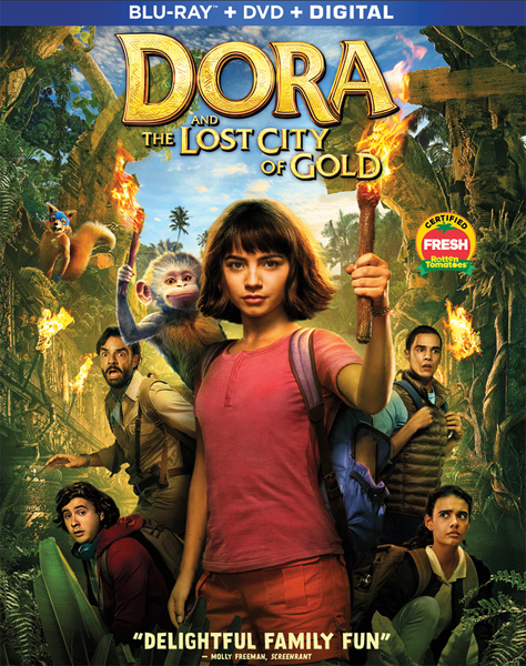 Дора и Затерянный город / Dora and the Lost City of Gold (2019) BDRip 720p, 1080p, BD-Remux, Blu-Ray EUR