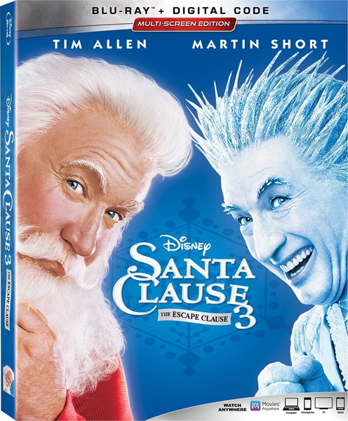Санта Клаус 3 / The Santa Clause 3: The Escape Clause (2006) BDRip 720p, 1080p, BD-Remux