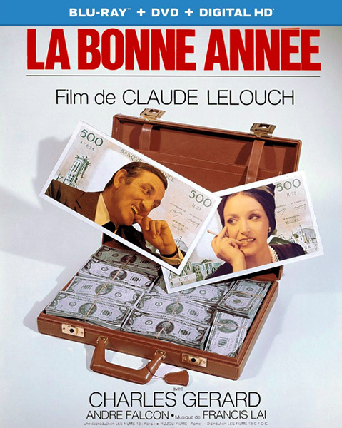 С Новым годом! / Happy New Year / La bonne annee (1973) BDRip 720p, 1080p, BD-Remux