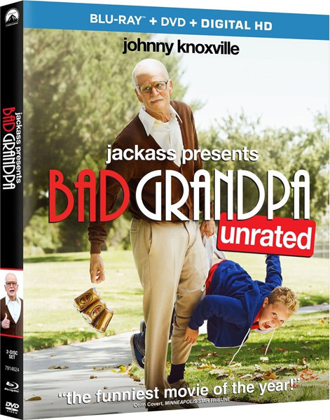 Несносный дед / Jackass Presents: Bad Grandpa (2013) [UNRATED] BDRip 720p, 1080p, BD-Remux