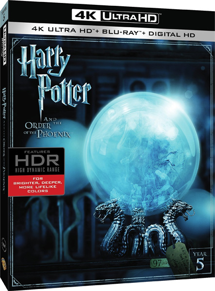 Гарри Поттер и орден Феникса / Harry Potter and the Order of the Phoenix (2007) 4K HDR BD-Remux