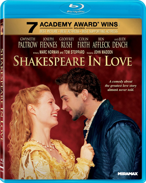 Влюбленный Шекспир / Shakespeare in Love (1998) BDRip 720p, 1080p, BD-Remux