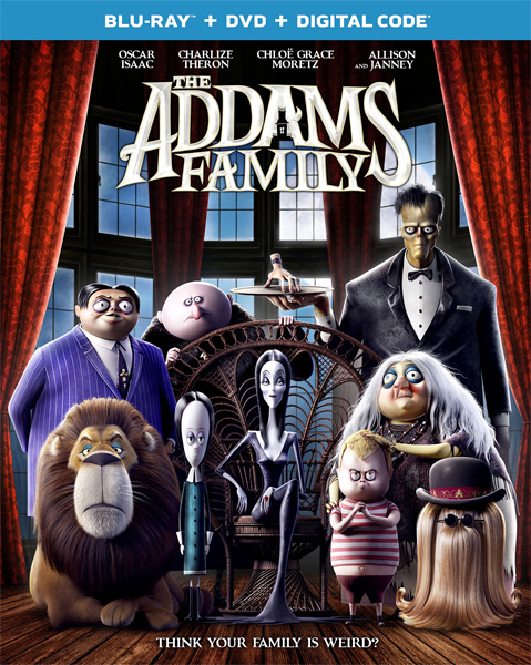 Семейка Аддамс / The Addams Family (2019) BDRip 720p, 1080p, BD-Remux, Blu-Ray CEE