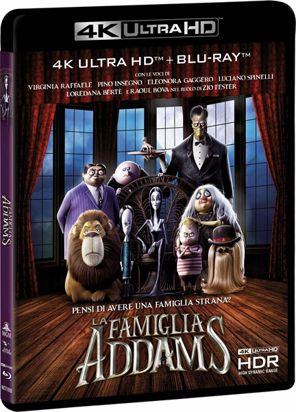 Семейка Аддамс / The Addams Family (2019) 4K HDR BD-Remux