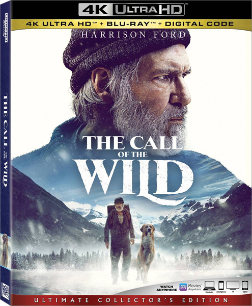 Зов предков / The Call of the Wild (2020) 4K HDR BD-Remux