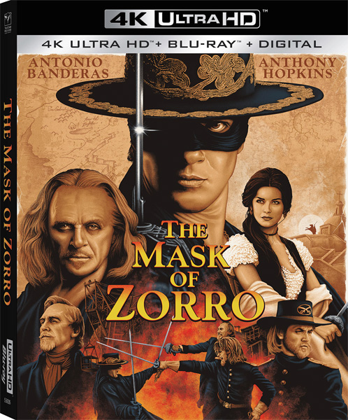 Маска Зорро / The Mask of Zorro (1998) 4K HDR BD-Remux