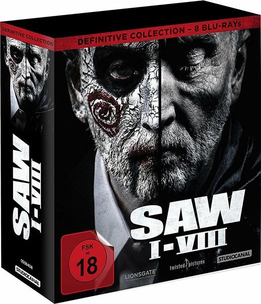 Пила: Коллекция / Saw: 8-Film Collection (2004-2017) BDRip 1080p
