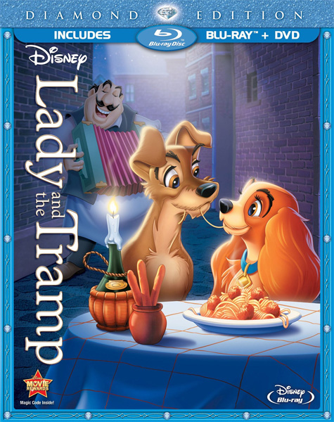 Леди и бродяга / Lady and the Tramp (1955) BDRip 720p, 1080p, BD-Remux