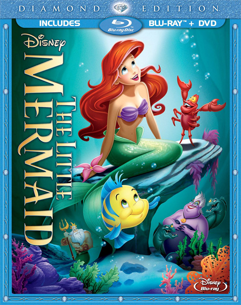 Русалочка / The Little Mermaid (1989) BDRip 720p, 1080p, BD-Remux