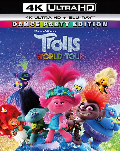 Тролли. Мировой тур / Trolls World Tour (2020) 4K HDR BD-Remux