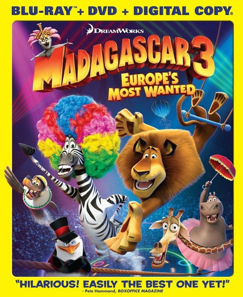 Мадагаскар 3 / Madagascar 3: Europe's Most Wanted (2012) BDRip 720p, 1080p, BD-Remux