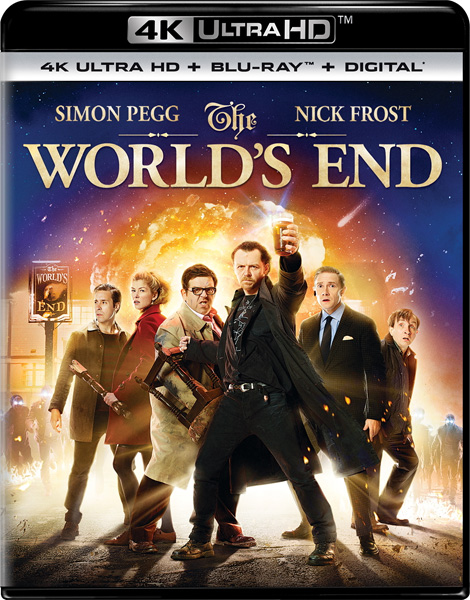 Армагеддец / The World's End (2013) 4K HDR BD-Remux