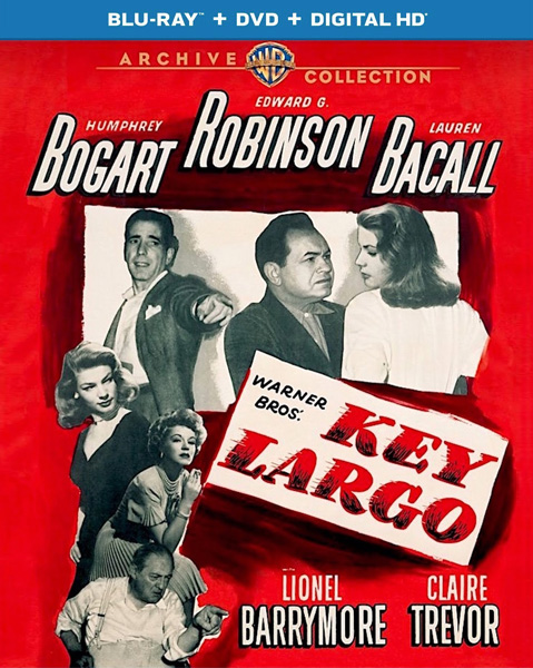 Риф Ларго / Ки-Ларго / Key Largo (1948) BDRip 720p, 1080p, BD-Remux