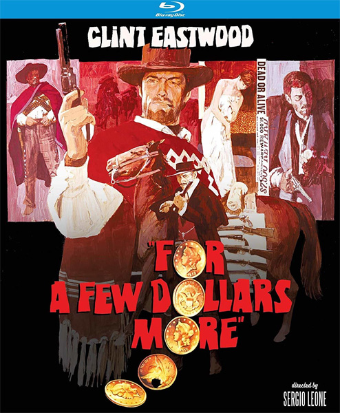 На несколько долларов больше / For A Few Dollars More / Per qualche dollaro in piu (1965) [Remastered] BDRip 720p, 1080p, BD-Remux