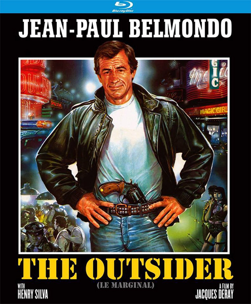 Вне закона / The Outsider / Le marginal (1983) BDRip 720p, 1080p, BD-Remux