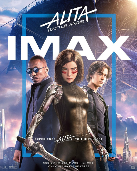 Алита: Боевой ангел / Alita: Battle Angel (2019) [Hybrid | Open Matte] 1080p